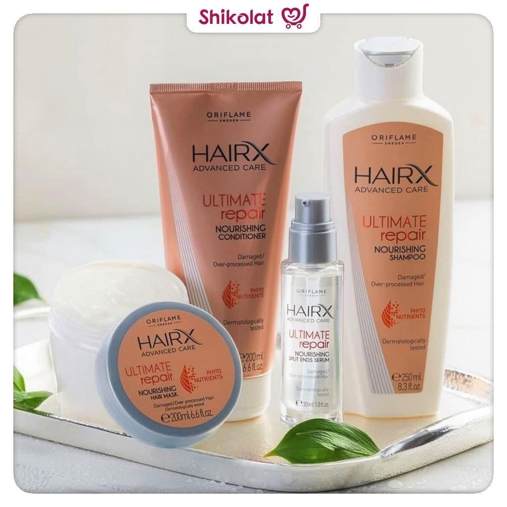 شامپو ترمیم کننده مو هیریکس اوریفلیم ۴۰۰ میل HairX Advanced Care