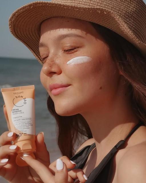 ضد آفتاب صورت و بدن SPF 50 اوریفلیم برای پوست حساس Sun 360