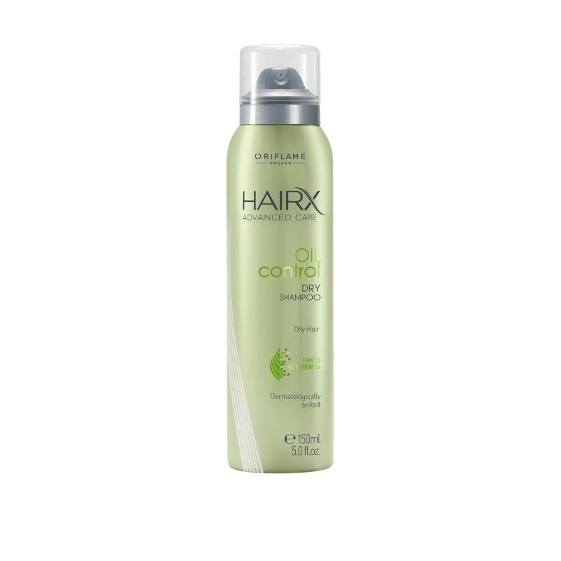 اسپری شامپو خشک اوریفلیم مناسب موهای چرب هیریکسHairX