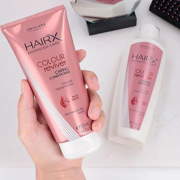 شامپو تثبیت کننده رنگ مو Hairx