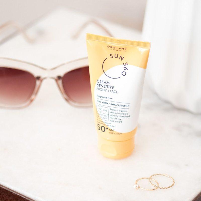 ضد آفتاب اوریفلیم برای پوست حساس