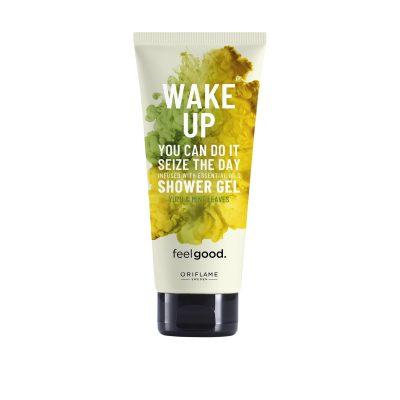 شامپو بدن ویک آپ اوریفلیم Wake Up Shower Gel Feel Good