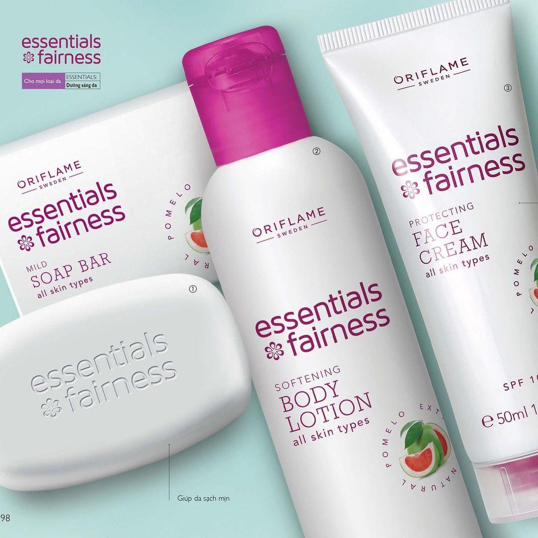 صابون اسنشیالز اوریفلیم Essentials Fairness Mild Soap Bar