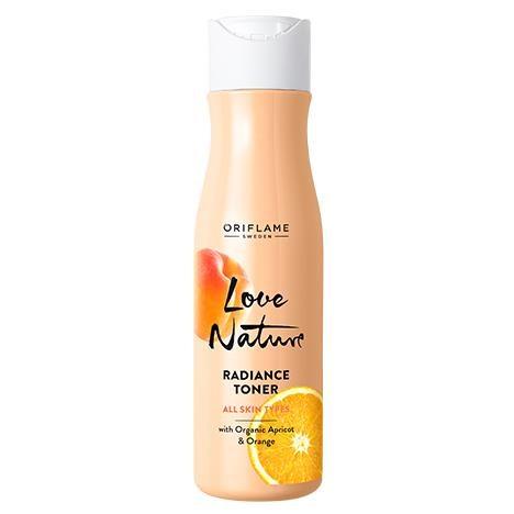 تونر شاداب کننده لاونیچر اوریفلیم حاوی عصاره پرتقال و زردآلو Love Nature