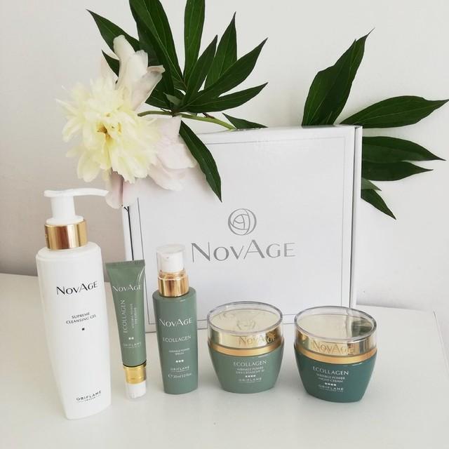 کرم ضدچروک دور چشم نوایج اوریفلیم Novage Ecollagen Eye Cream
