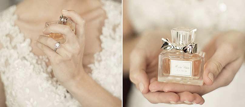 انتخاب عطر برای روز عروسی