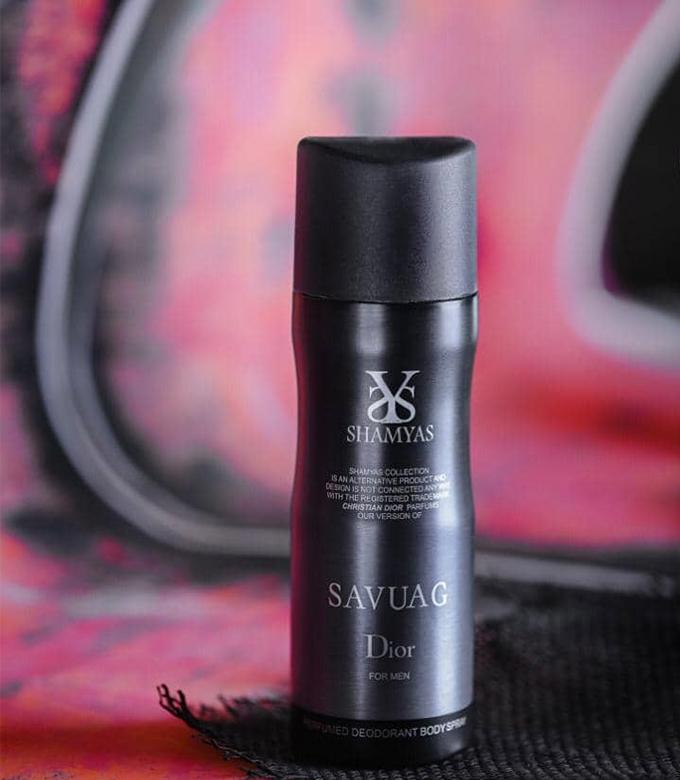 اسپری مردانه ساواج شمیاس Sauvage Dior Shamyas