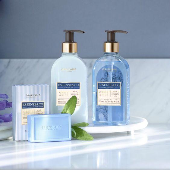 شوینده دست و بدن زنبق و مریم گلی اوریفلیم Hand & Body Wash Oriflame