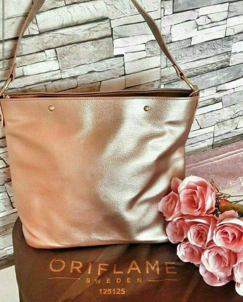 کیف زنانه رز گلد اوریفلیم Rose Gold Womens bag Oriflame