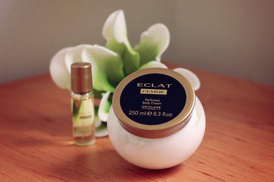 کرم بدن عطری اکلت فم اوریفلیم Eclat Femme Perfumed Cream Oriflame