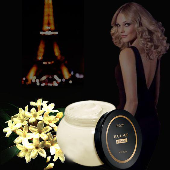 کرم بدن عطری اکلت فم اوریفلیم Eclat Femme Perfumed Body Cream Oriflame