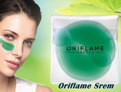 پد ژله اکلاژن اوریفلیم ECOLLAGEN Refreshing eye patches Oriflame