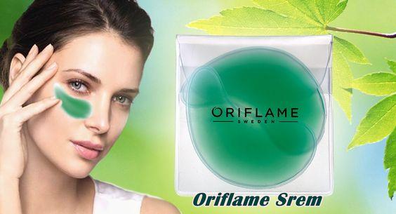 پد ژله اکلاژن اوریفلیم ECOLLAGEN Refreshing eye patches Oriflame