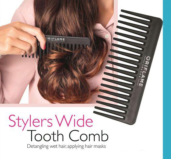 شانه دندانه درشت استایلر اوریفلیم Styler Wide Tooth Comb Oriflame