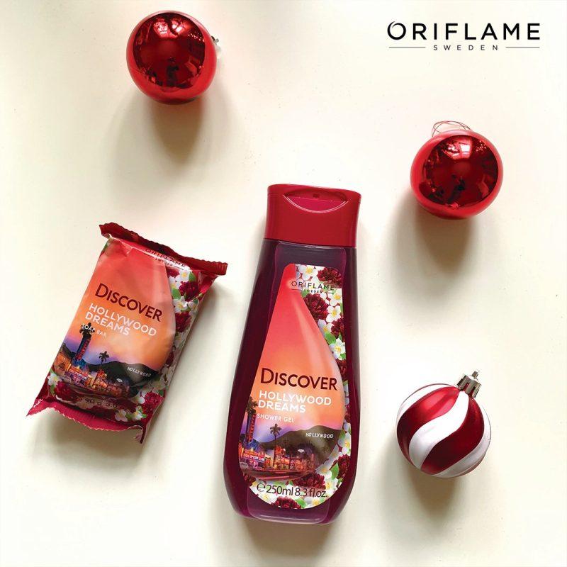 صابون دیسکاور هالیوود قرمز گل یاس اوریفلیم DISCOVER Soap Oriflame