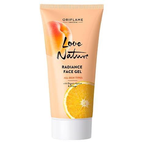 ژل صورت زردآلو پرتقال رادیانس لاونیچر اوریفلیم LOVE NATURE Oriflame