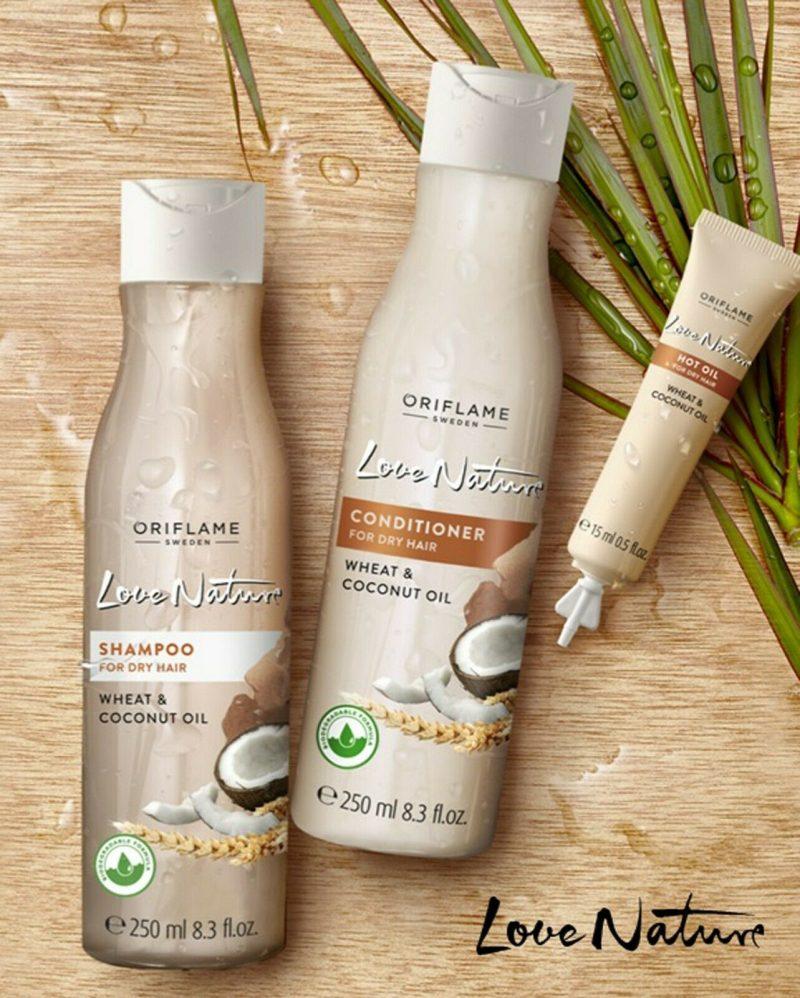 نرم کننده گندم و نارگیل اوریفلیم Conditioner for Dry Hair Oriflame
