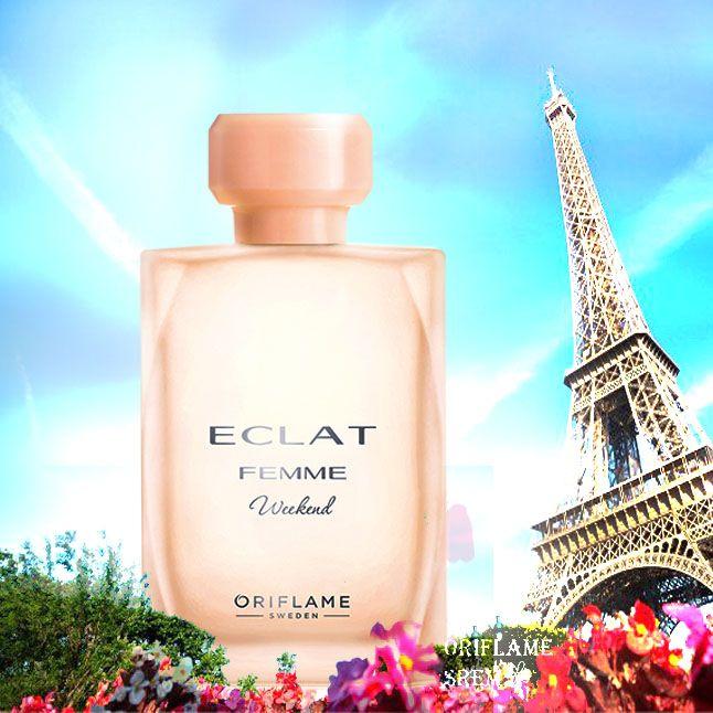 ادتویلت زنانه اکلت فم ویکند اوریفلیم ECLAT Femme Weekend EdT Oriflame