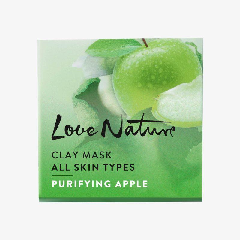 ماسک صورت سیب لاونیچر اوریفلیم LOVE NATURE Clay Mask All Skin Types Purifying Apple Oriflame