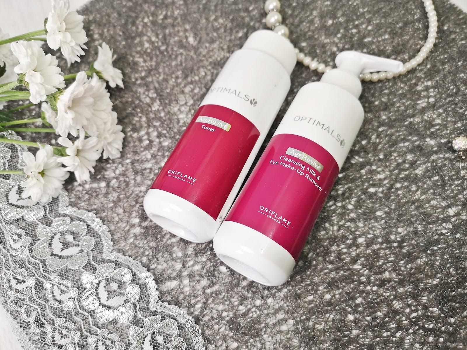شیرپاک کن و پاک کننده آرایش ضدپیری اپتیمالز اوریفلیم OPTIMALS Oriflame