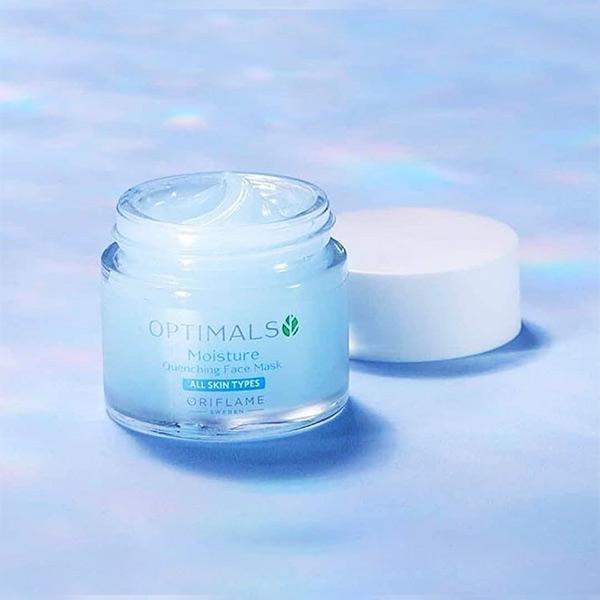 ماسک پاکسازی و آبرسان پوست اپتیمالز اوریفلیم OPTIMALS Oriflame