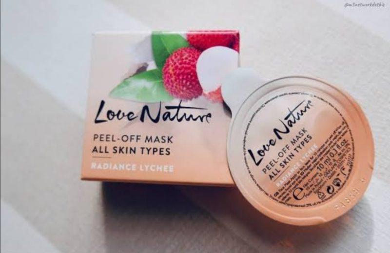 ماسک روشن کننده پوست لیچی لاونیچر اوریفلیم LOVE NATURE Peel-Off Mask All Skin Types Radiance Lychee Oriflame