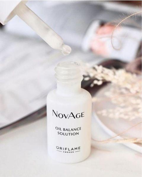 متعادل کننده چربی اویل بالانس سولوشن نوایج اوریفلیم NOVAGE Oil Balance Solution Oriflame