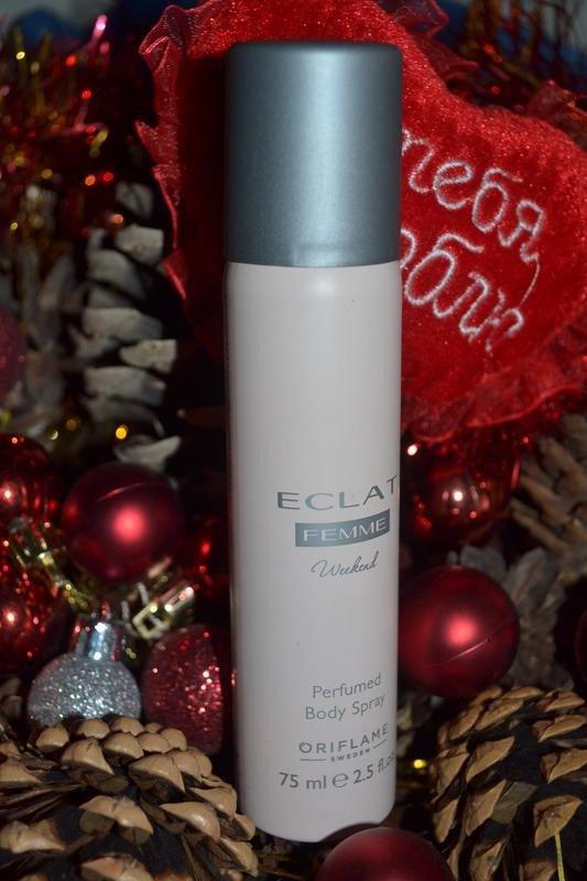 اسپری زنانه اکلت فم ویکند اوریفلیم ECLAT Femme Weekend Perfumed Body Spray