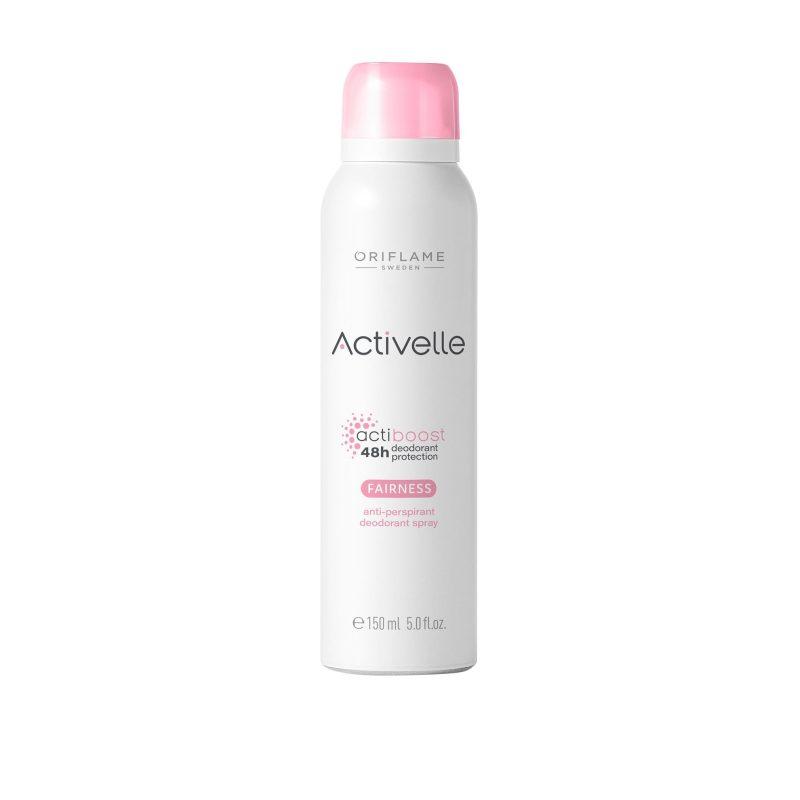 اسپری اکتیول فیرنس 48 ساعته اوریفلیم Fairness Anti-perspirant Deodorant Spray Oriflame