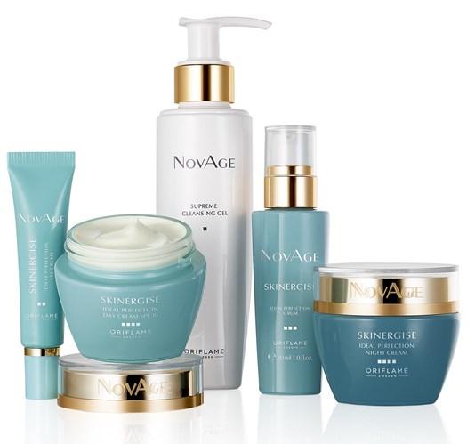 ست محصولات اسکینرجایز ایدیل پرفکشن نوایج اوریفلیم Novage Skinergise SET Oriflame