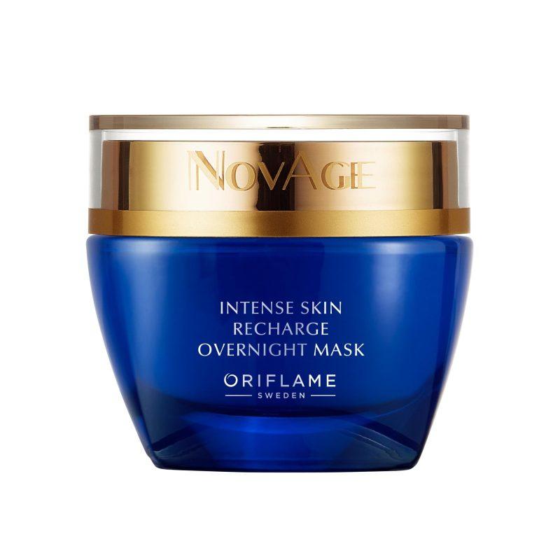 ماسک شب نوایج اینتنس اسکین ریشارژ اوریفلیم NOVAGE Intense Skin Recharge Overnight Mask Oriflame