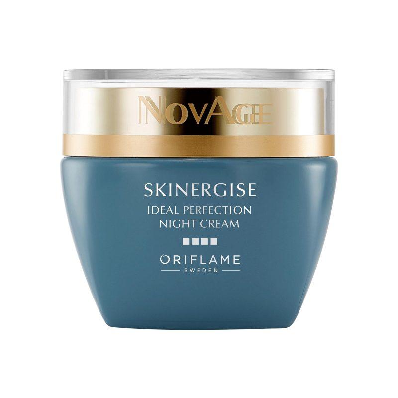 کرم شب اسکینرجایز ایدل پرفکشن ناویج اوریفلیم NOVAGE Skinergise Ideal Perfection Night Cream Oriflame