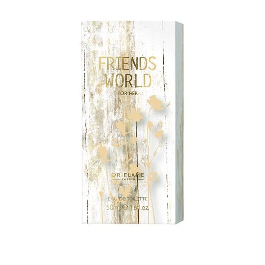 ادوتویلت زنانه فرندز ورلد اوریفلیم Friends World for Her Eau de Toilette Oriflame