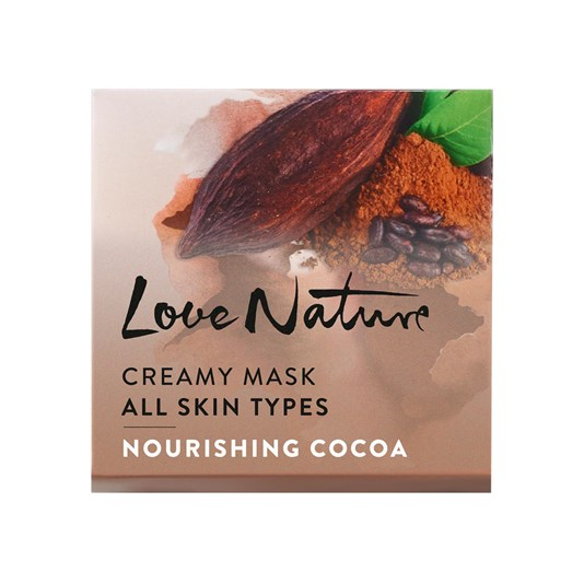 ماسک مغذی صورت کاکائو لاونیچر اوریفلیم LOVE NATURE Creamy Mask Nourishing Cocoa Oriflame