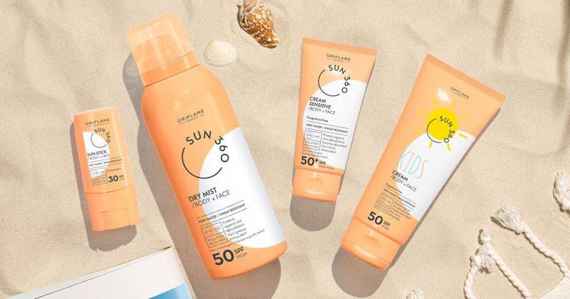 کرم ضد آفتاب کودک سان 360 اوریفلیم SUN 360 Kids Cream Body + Face SPF 50 High Oriflame