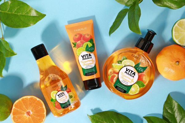 شامپو بدن ویتامین نارنگی و ترنج