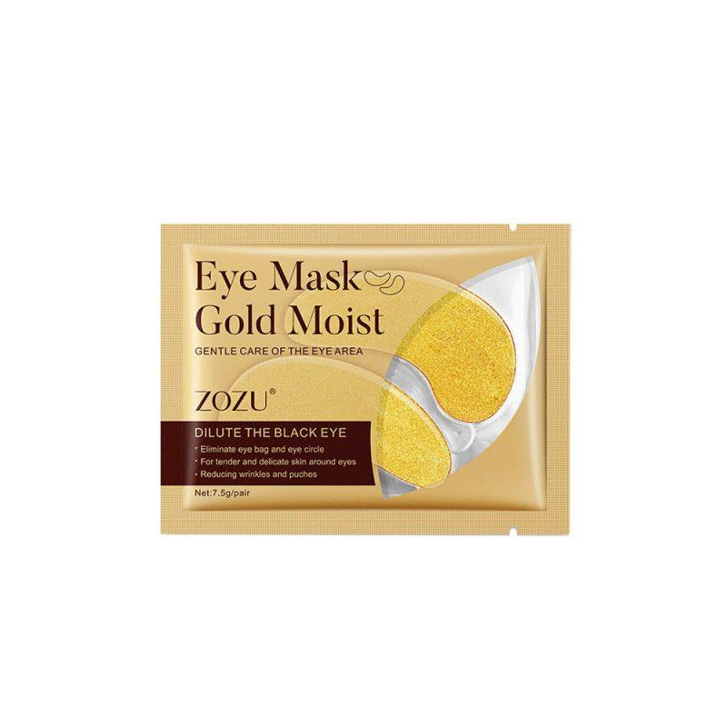 ماسک زیر چشم طلا زوزو ZOZU Eye Mask Gold Moist