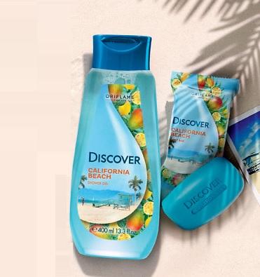 صابون معطر بدن کالیفرنیا دیسکاور اوریفلیم DISCOVER Soap Oriflame