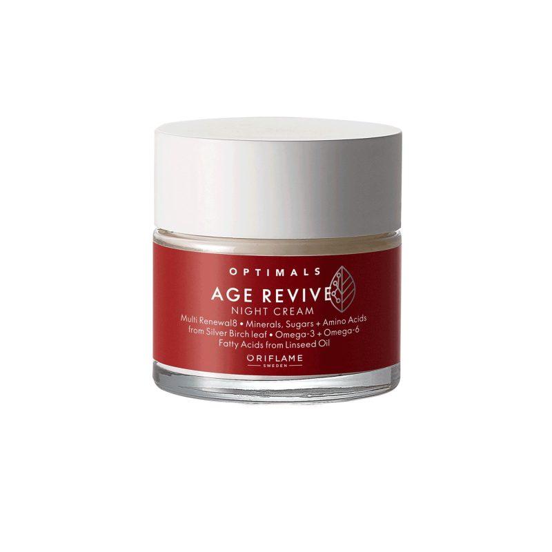 کرم شب ضدپیری محافظ اپتیمالز اوریفلیم OPTIMALS Age Revive Night Cream Oriflame