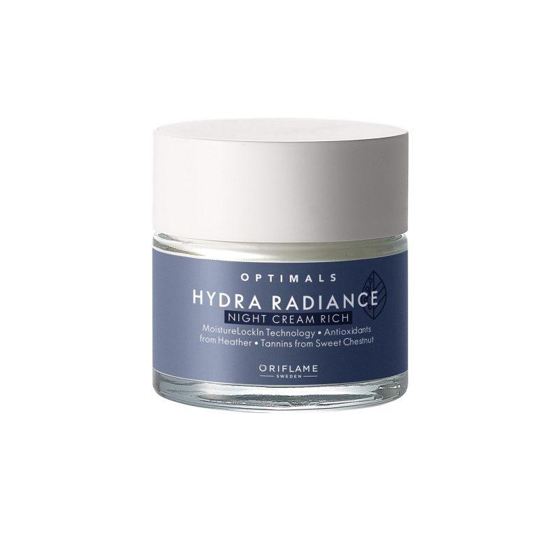 کرم شب آبرسان هیدرا رادیانس اپتیمالز اوریفلیم Optimals Night Cream Oriflame