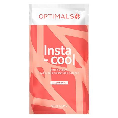 پچ خنک کننده صورت و زیر چشم اپتیمالز اوریفلیم OPTIMALS Insta-cool Anti-fatigue Hydro Gel Cooling Face Patches Oriflame