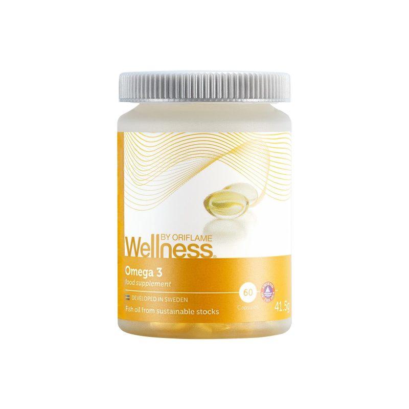 کپسول امگا 3 ولنس بای اوریفلیم WELLNESS BY ORIFLAME Omega 3 Oriflame