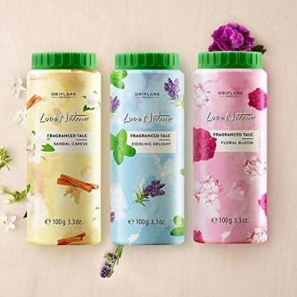 پودر تالک ضدتعریق فلورال بلوم لاونیچر اوریفلیم LOVE NATURE Fragranced Talc Floral Bloom Oriflame