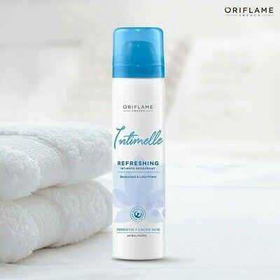 اسپری بهداشتی بانوان فمینله اوریفلیم FEMINELLE Refreshing Intimate Deodorant Blackcurrant & Lotus Flower Oriflame