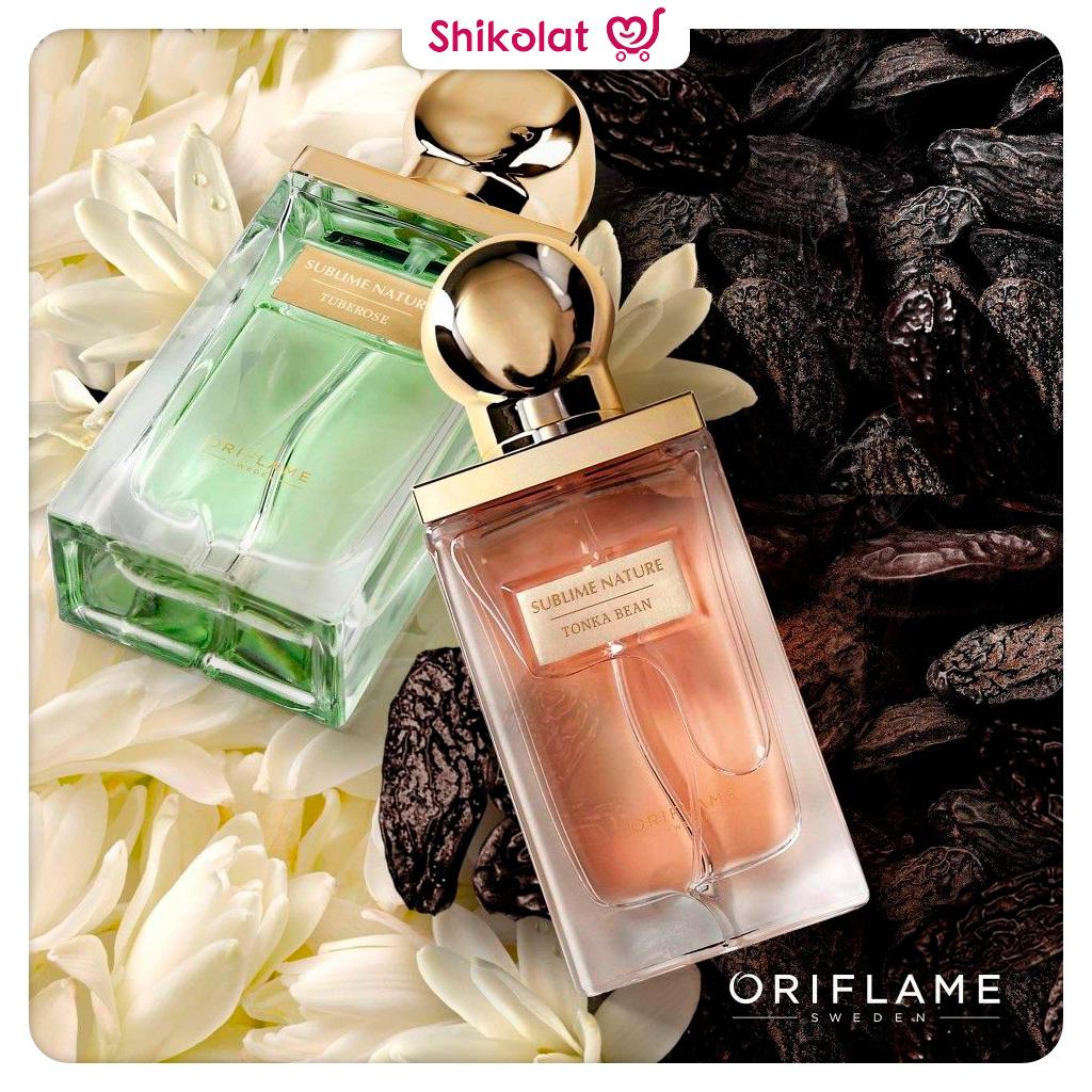 پرفیوم زنانه سابلایم نیچر تونکا اوریفلیم SUBLIME-NATURE Tonka Bean Parfum Oriflame
