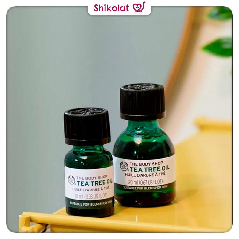 روغن تی تری بادی شاپ حجم 10 میل The Body Shop Tea Tree Oil 10ml