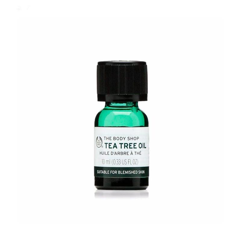 روغن درخت چای سبز بادی شاپ حجم 10 میل The Body Shop Tea Tree Oil 10ml