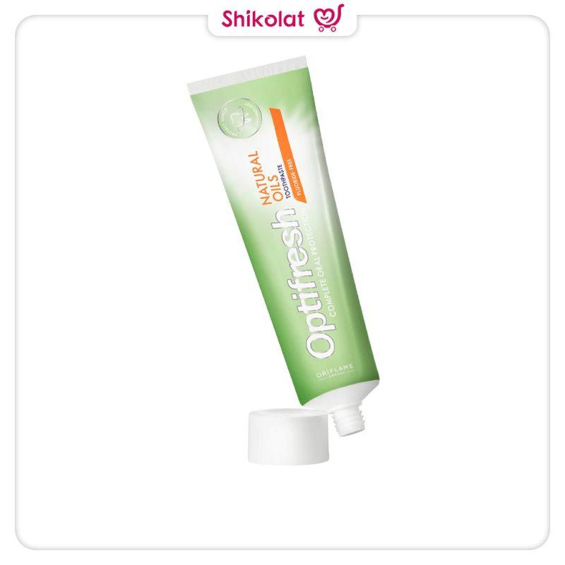 خمیردندان نچرال اویلز اپتی فرش اوریفلیم Optifresh Natural Oils Toothpaste Oriflame