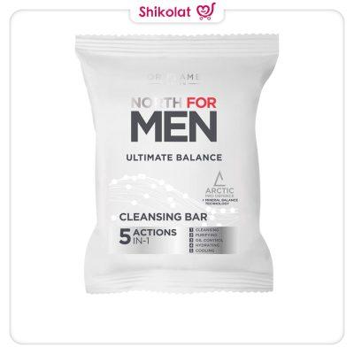 صابون آلتیمیت بالانس نورث فورمن اوریفلیم NORTH FOR MEN Ultimate Balance Sabun Oriflame