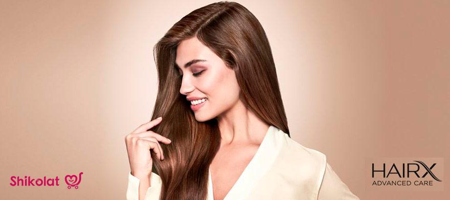 محصولات برند هیریکس اوریفلیم hairx brand cosmetics